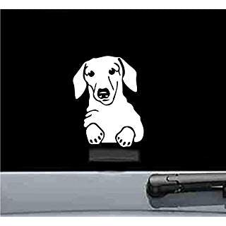 Dachshund Hot Dog Wiener Dog | Die Cut Vinyl Sticker Decal | Sticky Addiction