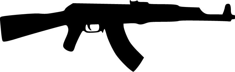AK-47 - Die Cut Vinyl Sticker Decal
