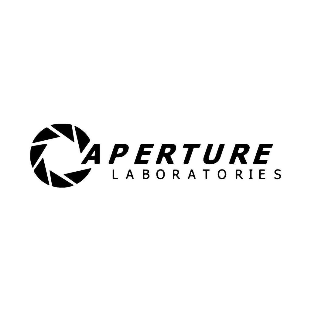 Aperture Laboratories, Portal - Die Cut Vinyl Sticker Decal