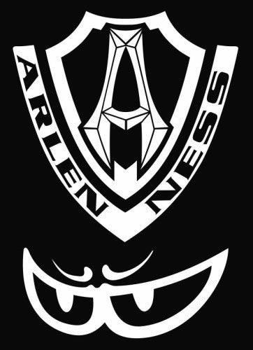 Arlen Ness logo - Die Cut Vinyl Sticker Decal