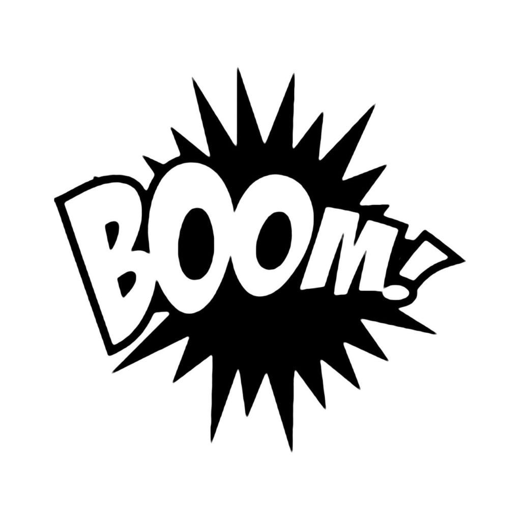 BOOM - Die Cut Vinyl Sticker Decal