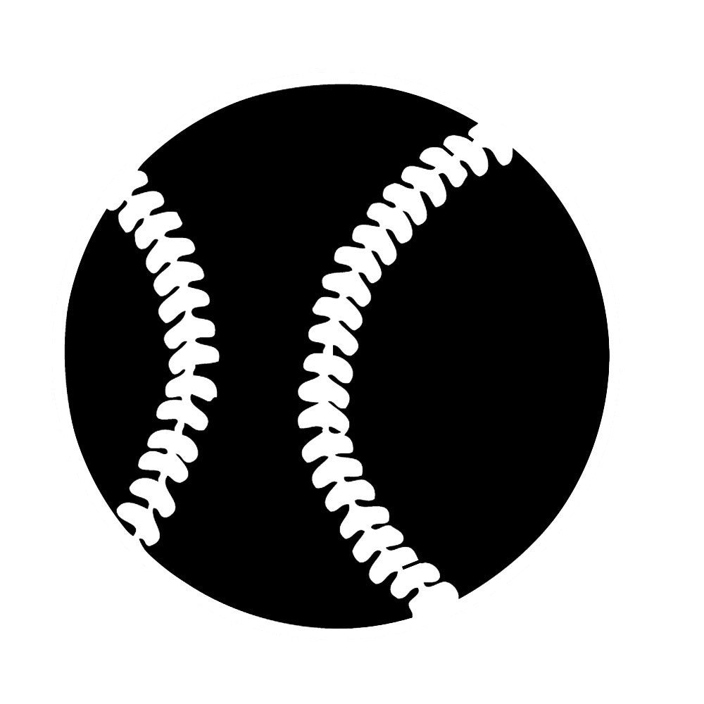 Baseball - Die Cut Vinyl Sticker Decal