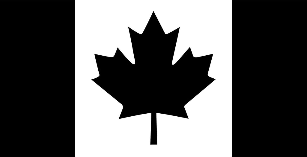 Canada flag - Die Cut Vinyl Sticker Decal
