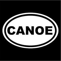 Canoe - Die Cut Vinyl Sticker Decal