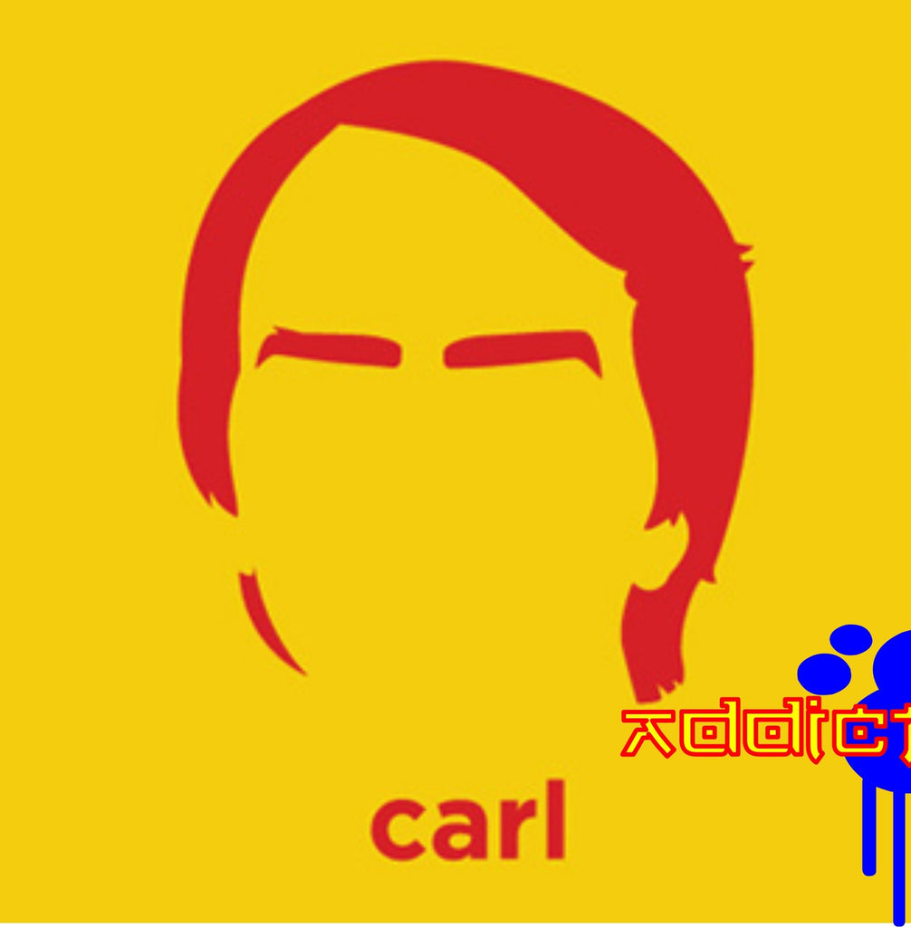 Carl Sagan - Die Cut Vinyl Sticker Decal