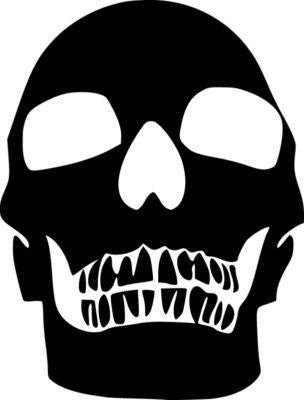Skull - Die Cut Vinyl Sticker Decal