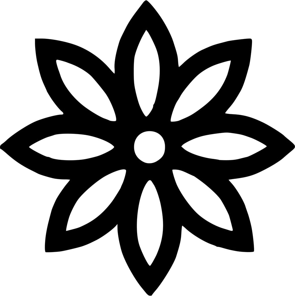 Daisy flower - Die Cut Vinyl Sticker Decal