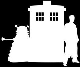 Doctor Tardis Dalek Dr Who | Die Cut Vinyl Sticker Decal | Sticky Addiction