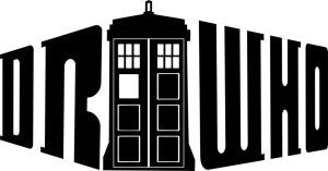 Doctor Who Tardis TV | Die Cut Vinyl Sticker Decal | Sticky Addiction