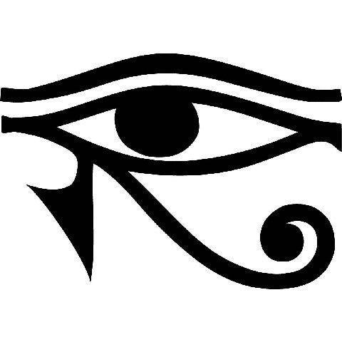 Eye of Horus | Die Cut Vinyl Sticker Decal | Sticky Addiction