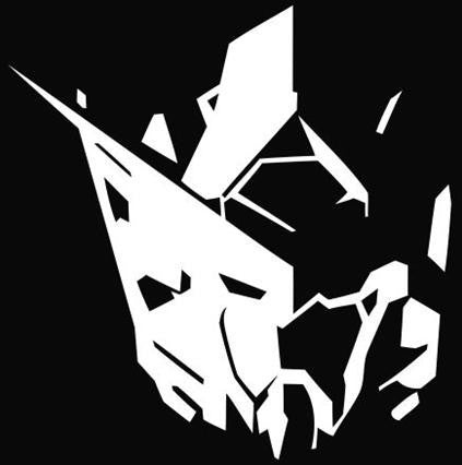 Gundam - Die Cut Vinyl Sticker Decal