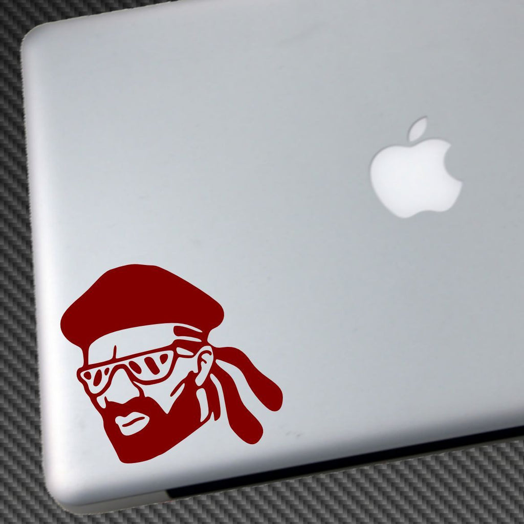 Major Lazer head - Die Cut Vinyl Sticker Decal