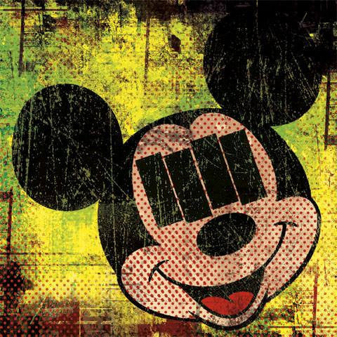 Mickey Mouse Black Flag Vinyl Decal Sticker