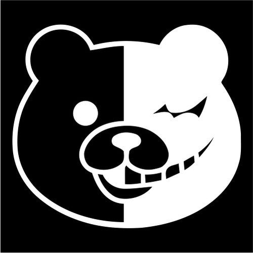 Monobear, Danganronpa - Die Cut Vinyl Sticker Decal
