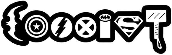 Superhero Coexist | Die Cut Vinyl Sticker Decal | Sticky Addiction