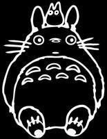 My Neighbor Totoro - Die Cut Vinyl Sticker Decal
