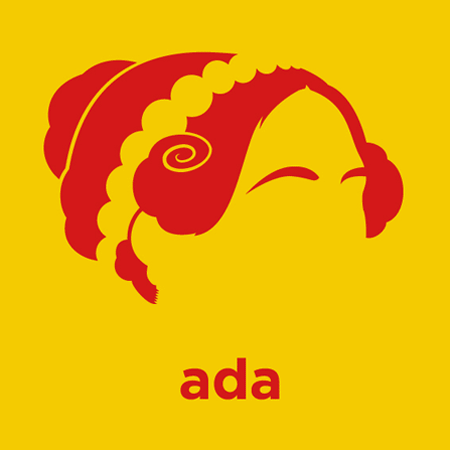 Ada Lovelace Founder of Scientific Computing  |  Die Cut Vinyl Sticker Decal | Sticky Addiction