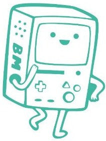 Adventure Time Beemo - Die Cut Vinyl Sticker Decal