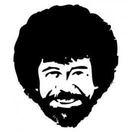 Afro Chuck Norris | Die Cut Vinyl Sticker Decal | Sticky Addiction