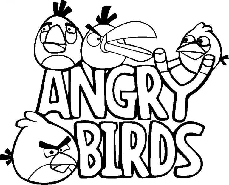 Angry Birds With Sling | Die Cut Vinyl Sticker Decal | Sticky Addiction