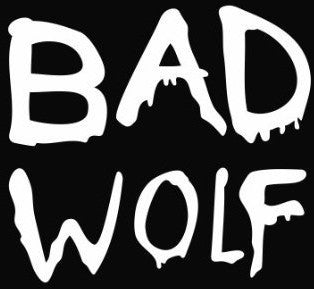 Doctor Who Tardis Whovian Bad Wolf -  Die Cut Vinyl Sticker Decal