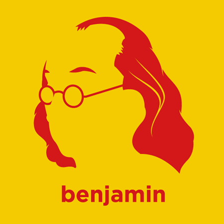 Benjamin Franklin - Die Cut Vinyl Sticker Decal