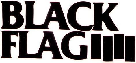 Black Flag | Die Cut Vinyl Sticker Decal | Sticky Addiction