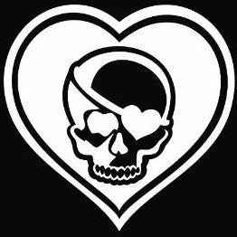 Black Hearts logo, The Venture Bros - Die Cut Vinyl Sticker Decal
