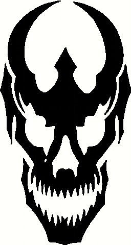 Devil Skull | Die Cut Vinyl Sticker Decal | Sticky Addiction