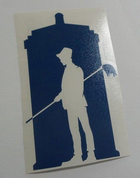 Dr Who 11th Doctor Tardis | Die Cut Vinyl Sticker Decal