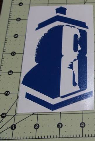Dr Who 8th Doctor | Die Cut Vinyl Sticker Decal