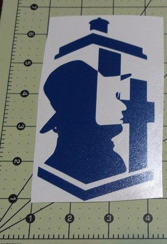 Dr Who 4th Doctor | Die Cut Vinyl Sticker Decal