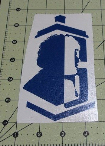 Dr Who 6th Doctor | Die Cut Vinyl Sticker Decal