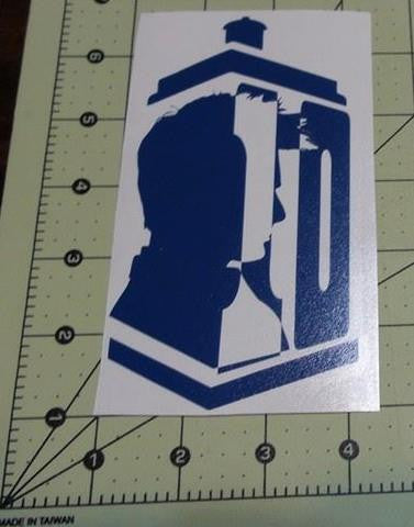 Dr Who 10th Doctor | Die Cut Vinyl Sticker Decal
