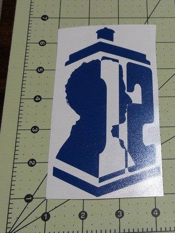 Dr Who 12th Doctor | Die Cut Vinyl Sticker Decal