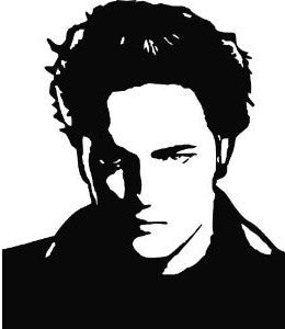 Twilight Edward Cullen | Die Cut Vinyl Sticker Decal | Sticky Addiction