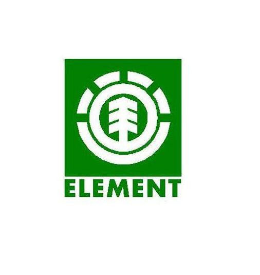 Element Clothing Circle Logo | Die Cut Vinyl Sticker Decal | Sticky Addiction
