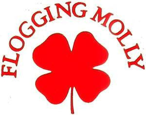 Flogging Molly Clover | Die Cut Vinyl Sticker Decal | Sticky Addiction