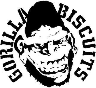 Gorilla Biscuits | Die Cut Vinyl Sticker Decal | Sticky Addiction