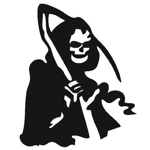 Grim Reaper JDM Racing | Die Cut Vinyl Sticker Decal | Sticky Addiction