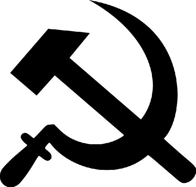 Hammer Sickle Soviet State Communist Sign | Die Cut Vinyl Sticker Decal | Sticky Addiction