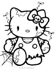 Hello Kitty Dead Die Cut Vinyl Sticker Decal