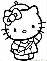 Hello Kitty France Die Cut Vinyl Sticker Decal