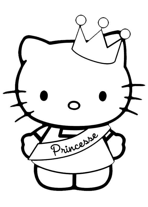 Hello Kitty Princesse Die Cut Vinyl Sticker Decal