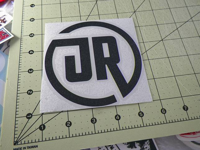Japan railways circle logo jdm racing die cut vinyl sticker decal sticky addiction