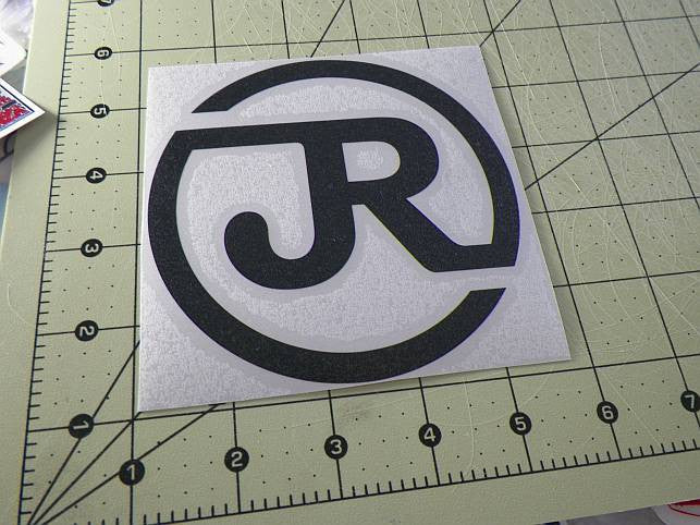 Japan Railways JR Logo JDM Racing | Die Cut Vinyl Sticker Decal | Sticky Addiction