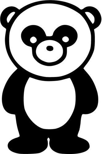 Panda JDM Racing | Die Cut Vinyl Sticker Decal | Sticky Addiction