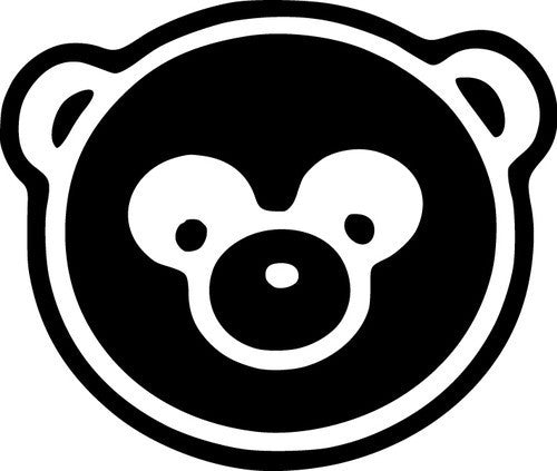Panda Head JDM Racing | Die Cut Vinyl Sticker Decal | Sticky Addiction