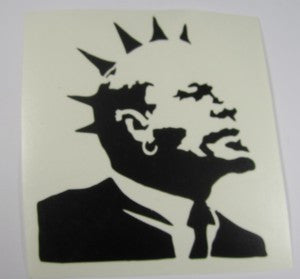 Lenin Punk Banksy | Die Cut Vinyl Sticker Decal | Sticky Addiction