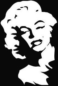 Marilyn Monroe - Die Cut Vinyl Sticker Decal